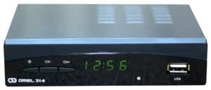 Ресивер DVB-T2 ORIEL-314
