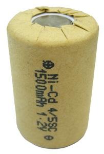 Аккумулятор 4/5SC (1.2V, 1500mAh)