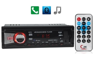 Автомагнитола MP3 TD-3009 (радио,USB,SD,bluetooth)