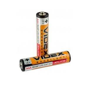 Батарейка солевая VIDEX ААА R03P 1.5V