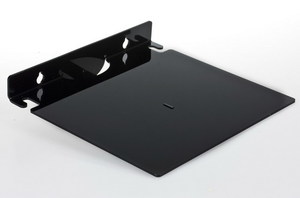 Полка пластиковая Б180 черная