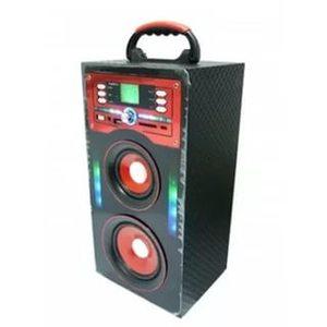 Портативная акустика MP3 KS-446-V17 (SD,USB,2-5W,FM,встроенный + аккум.BL-5С, 3*AA, ДУ)