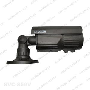SVC-S69V, AHD Видеокамера, 1Mp (1280х720), объектив 2,8-12мм, с OSD