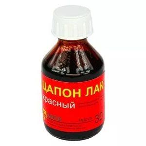 Цапонлак красный 30мл (с) Connector