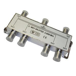Сплиттер 6-WAY 5-2050МГц Сигнал