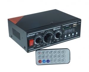 Усилитель звука WVNGR WG-777BT (2х40Вт, USB, SD, bluetooth)