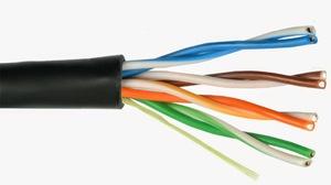 PLEXUS UTP data cable 4PR 24AWG CAT 5E version PRO OUTDOOR Plexus