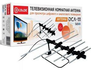 Антенна ТВ комнатная DCA-111