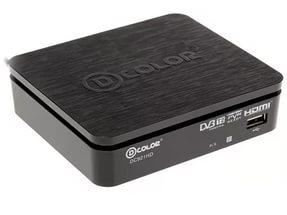 Ресивер DVB-T2 DCOLOR DC921HD