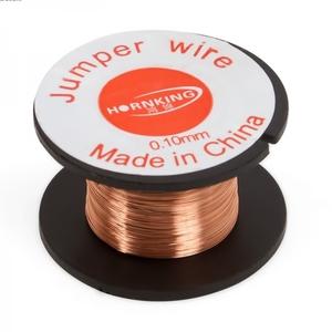Провод медный для пайки 0,1мм, Jumper wire.