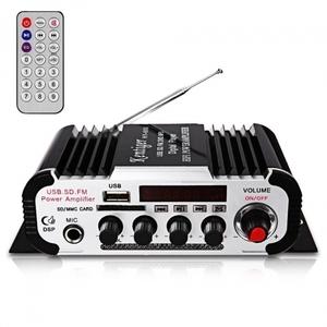 Усилитель звука HY604 (4х20Вт, USB, SD, FM)
