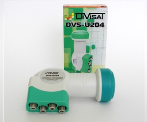 DVS-U204: Конвертер спутниковый универсальный 4 выхода DiViSat