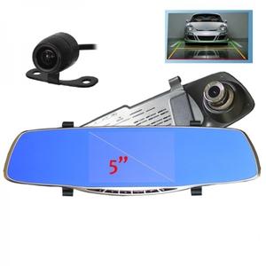 Автовидеорегистратор зеркало + камера HAD-68