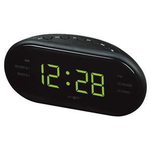 Часы электронные VST902-2 + радио зел.цифры