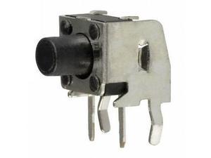 Кнопка тактовая  6 x 6 x  7 (шток 3.5 мм) угловая 2c