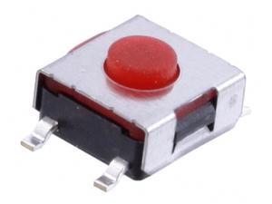 Кнопка  тактовая 6 х 6 х  6 (шток 2.5 мм) 4c
