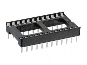 SCL-24 панелька DIP-24 широкая  2.54 мм