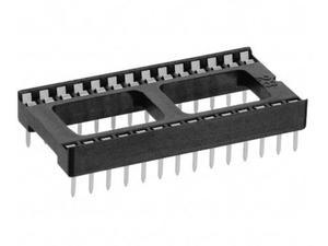 SCL-28 панелька DIP-28 широкая  2.54 мм