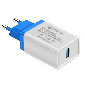 Быстрая зарядка USB Quick Charge 3.0 BS-2051 (OT-APU24) Class A (5-12В, 3500мА).