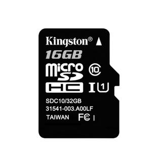 Карта памяти micro SD 16Gb Kingston(без адаптера) Class 10