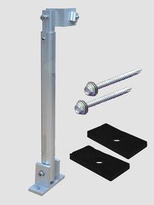 Задняя стойка с изменяемым углом для солнечных панелей