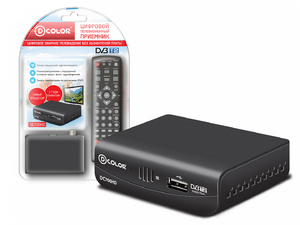 Ресивер DVB-T2 DCOLOR DC700HD