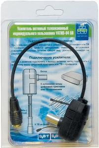 Усилитель ДМВ УАТИП-04 5В (в коробке), Ку не менее 19.5 дБ.