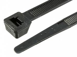 Стяжка кабеля 60 x 2.2 мм -черная- (100шт)