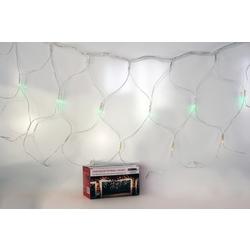 Гирлянда-сетка 18040A, 160LED, 1,5x2м, белые огни, с контроллером, удлиняемая