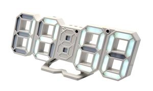 Часы эл. VST883-6 бел.цифры (5В)