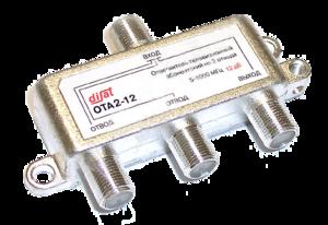Ответвитель 2 отвода 14 дБ 5-1000 МГц Disat