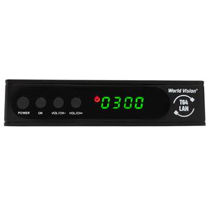 Цифровая ТВ приставка WORLD VISION T64LAN (DVB-T2/DVB-C)