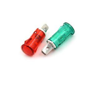 Индикатор  7.2 мм RWE-101 neon 220V -синий-