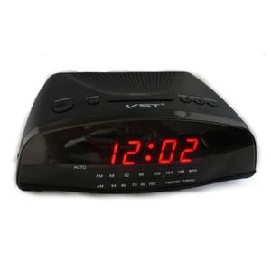 Часы эл. VST905-1 + радио крас. цифры
