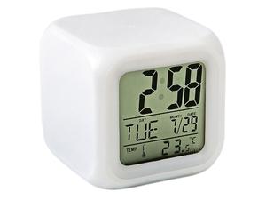 Часы OT-CLT01 (BCT TD-007), (дата, будильник, темпер., подсветка)