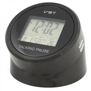 VST-7053T часы эл. (температура, будильник, говорящ.)