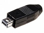 Штекер Mini USB-A 4-pin пайка