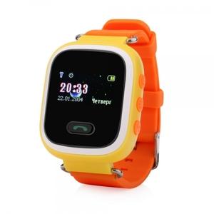 Часы детские с GPS GP-02 (Желтые)