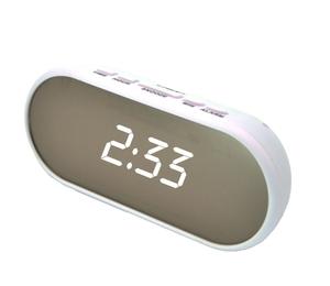 Часы эл. VST712Y-6 бел.цифры