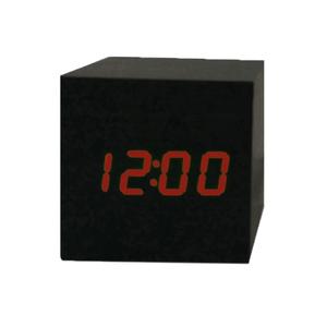 Часы эл. VST869-1 крас.цифры (ЧЕРНЫЕ)