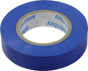 Изолента Smartbuy, 0.13х15мм, 20 метров, синяя (SBE-IT-15-20-db)