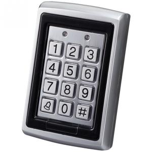 Кодовая клавиатура со считывателем, сталь, YK-568L