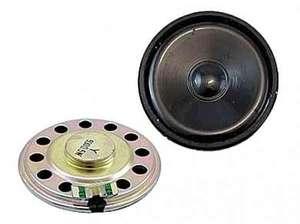 Динамик 50ohm 0.5W d50mm