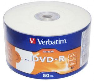Диск DVD-R bulk 4.7 Gb 16х  Printable (1 шт.) OEM