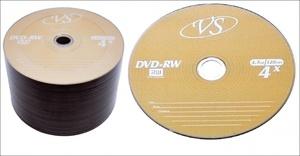 Диск DVD-RW VS 4.7 Gb OEM