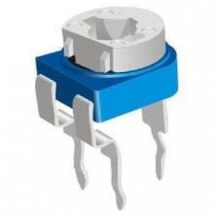Резистор подстроечный RM065 500Ом