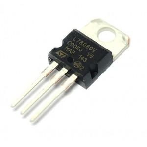 Стабилизатор напряжения L7806CV (6В, 1.5А)