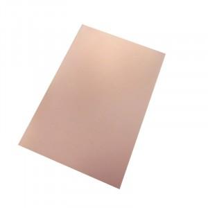 Фольгированный бакелит односторонний 10х10см