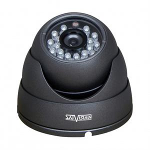 SVC-D292 SL  Видеокамера цветная купольная,  2 Mpix, 0.01 Лк, объектив 2.8 мм,