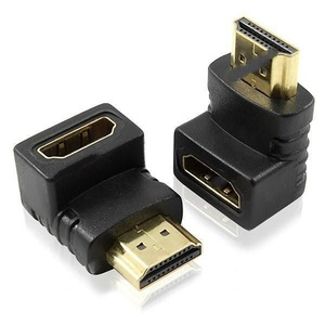 Видео переходник гнездо HDMI - штекер HDMI угловой SH-160